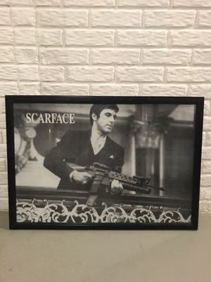 Scarface framed picture for Sale in Oshkosh, WI
