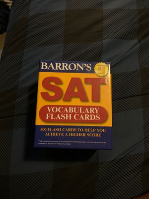 SAT Flashcards for Sale in Missoula, MT