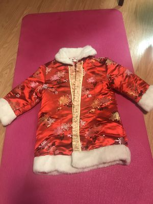Chinese New Year Girls Jacket (size 5T) Kids Clothing for Sale in Seattle, WA