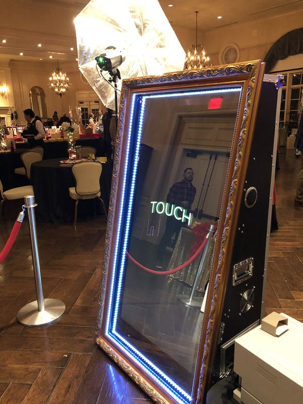 Photo Booth and Magic Mirror available