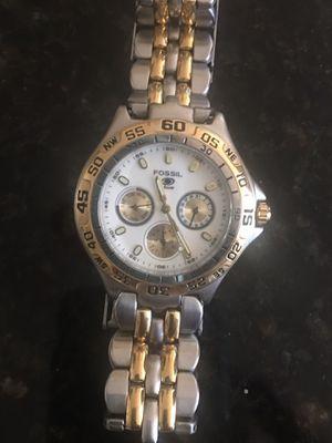 Men's Fossil Blue Quartz Watch for Sale in Murfreesboro, TN