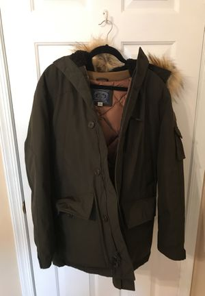 JCrew Nordic Down Parka in Dark Olive for Sale in Centreville, VA