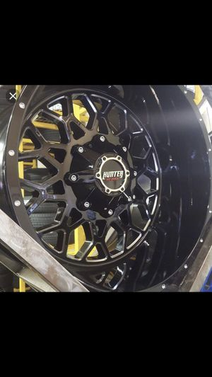Nitto terra tires and hunter rims -MUST SEE for Sale in North Las Vegas, NV
