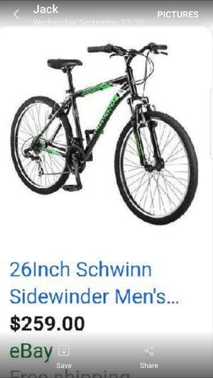 26' schwinn men's mountain bike for Sale in Dundalk, MD