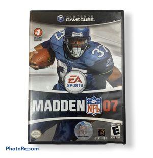 Madden NFL 2007 Nintendo Gamecube. Football for Sale in Princeton, NJ