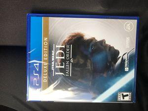 Jedi Fallen Order Deluxe Edition for Sale in Oakland, CA