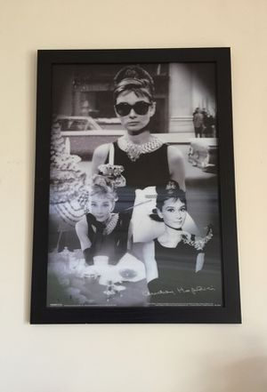 Audrey Hepburn Holographic Picture for Sale in Akron, OH