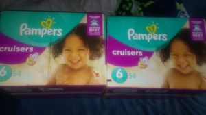 Size 6 pampers cruisers for Sale in Portland, OR