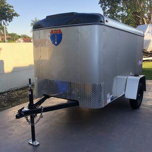 New 5x8 Enclosed Cargo Trailer for Sale in Miami, FL