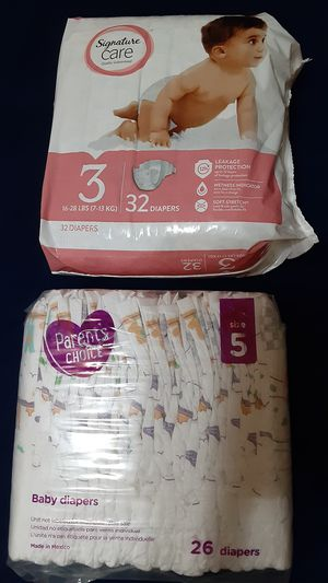 New diapers size 3 and size 5 for Sale in San Jose, CA