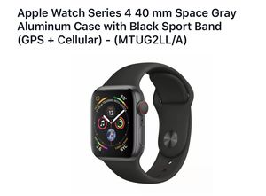 Apple Watch Series 4 40mm Cellular+GPS for Sale in Katy, TX
