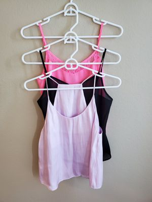3 beautiful strappy tops size small. $5 for all. for Sale in Farmers Branch, TX