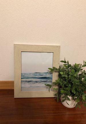 Beautiful framed ocean picture for Sale in Auburn, WA