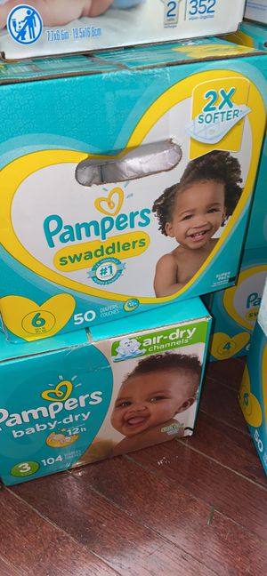 Pampers, Huggies for Sale in Adelphi, MD