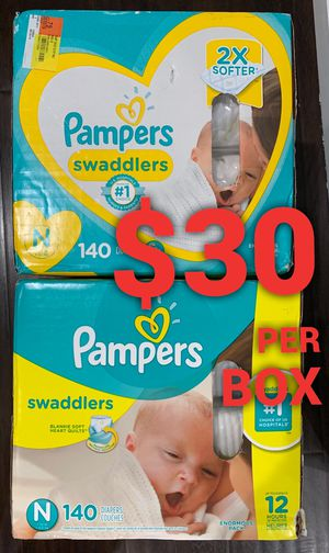 Pampers Swaddled size Newborn for Sale in Long Beach, CA