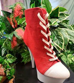 School Girl Red Shoe High Heel for Sale in Spring,  TX