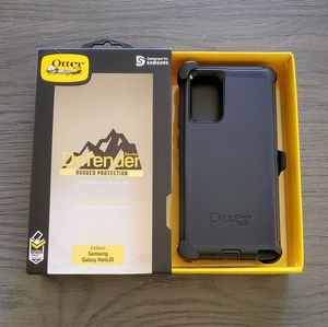 Samsung Galaxy Note 20 Otterbox Defender series case with belt clip holster black for Sale in Santa Clarita, CA