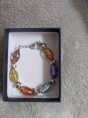 Dazzling Designs Glass and Crystal Bracelet for Sale in Waddell, AZ