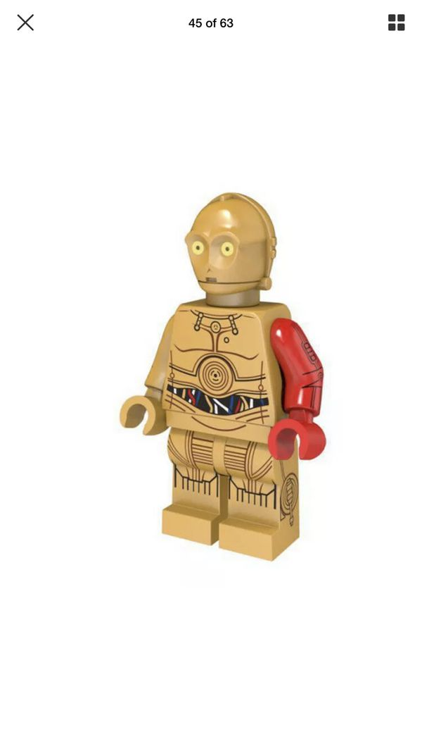 R2-D2 and C-3PO Minifigure Star Wars Mini Figure