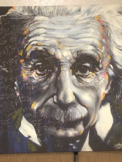 Albert Einstein Painting for Sale in Covington,  WA