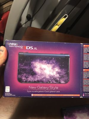 Nintendo 3ds xl new galaxy style for Sale in Crystal City, MO