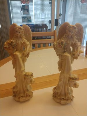 2 Delicate Angel Statue with Baby Resin made for Sale in Kissimmee, FL