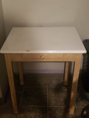 Metal and Wood Utility Table for Sale in Washington, DC