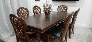 Dining/Kitchen Room Table with 6 Chairs and Extension. Comedor for Sale in Peoria, AZ