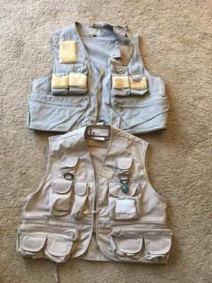 Fishing vest medium $15 for Sale in San Jose, CA