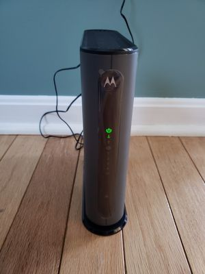 Motorola MG7315 modem/router combo for Sale in Ijamsville, MD