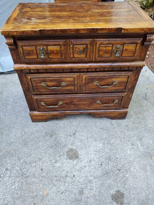 Vintage Solid 3 Drawer Multi-Functional Mini Chest for Sale in Orlando, FL