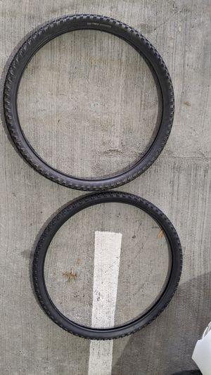 Set of 2: 26 inch Mountain Bike Tires for Sale in Atlanta, GA