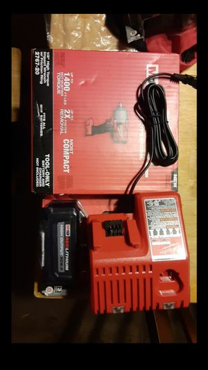 All New Milwaukee M18 Fuel BRUSHLESS 1/2in Impact KIT for Sale in Moriarty, NM