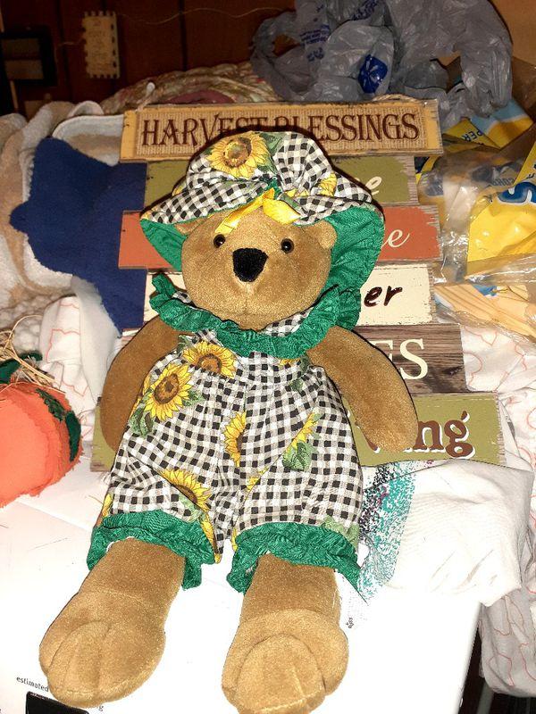 FALL TEDDY BEAR