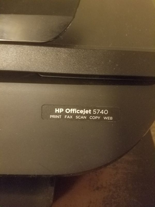 HP OfficeJet 5740 Wireless printer for Sale in Kissimmee, FL - OfferUp