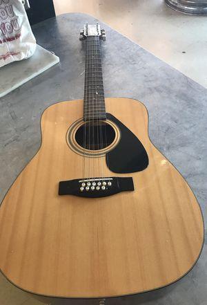 Yamaha 12 string Acoustic guitar for Sale in Phoenix, AZ