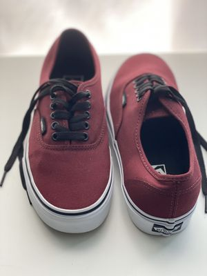 Authentic red vans for Sale in Palm Shores, FL