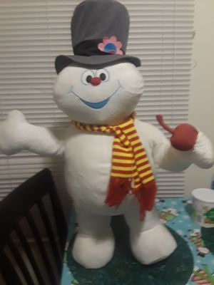 Frosty the snowman plush doll for Sale in Riverside, CA