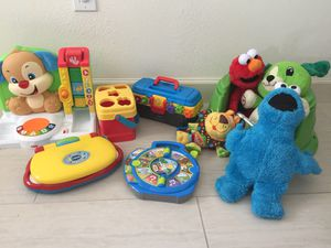 Toddler toys set for Sale in Tampa, FL