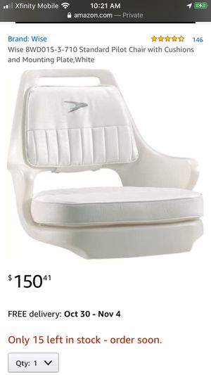 Brand New Captain Boat Seat for Sale in San Jose, CA