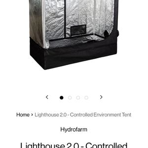 Lighthouse 2.0 Grow Tent 2.5 X 5.0 Ft for Sale in Redlands, CA