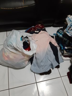 Free bags of clothes size L and M for women and men for Sale in El Monte, CA