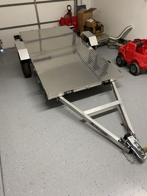 Ultra Tow Folding Aluminum Utility Trailer for Sale in Temecula, CA