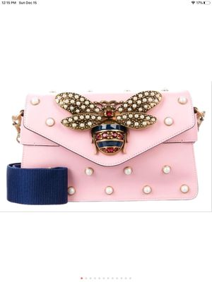Gucci pink leather queen Margaret bee bag for Sale in Stockton, CA