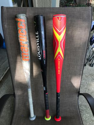 Baseball bats (tball) two are USA Baseball certified for Sale in Casselberry, FL