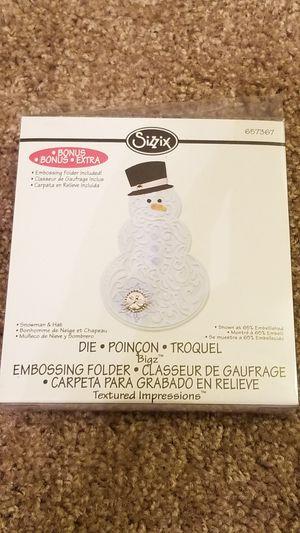 Sizzix Snowman & Hat 657350 for Sale in Scottsdale, AZ
