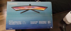 Samsung Curved Monitor, Black, 27in for Sale in Queens, NY