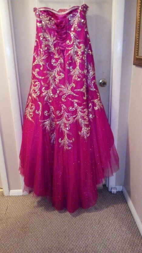 Tiffany Designs fuchsia pink Formal