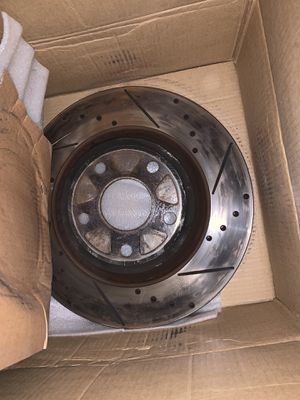 Slot and drilled rotors for 07 and up Durango for Sale in Harper Woods, MI