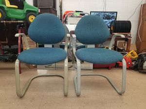 Office chairs non wheels 10 dollars each for Sale in Indianapolis, IN